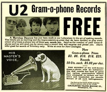 U2 Gramophone