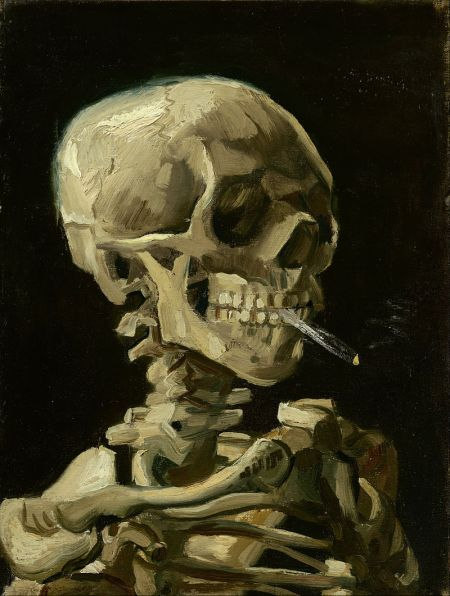 Vincent_van_Gogh_-_Head_of_a_skeleton_with_a_burning_cigarette