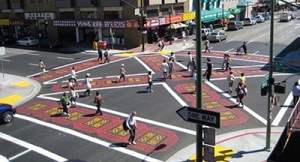 Scramble intersections