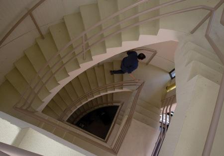 big staircase