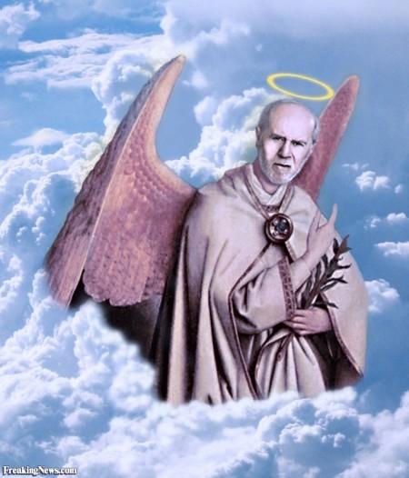 george carlin in  heaven