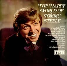 happy Tommy Steele