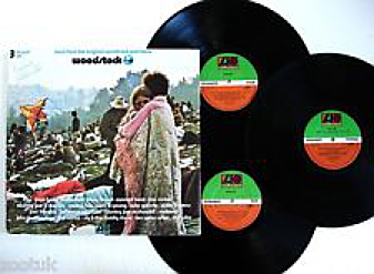 Woodstock LPs Atlantic