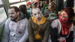 zombies on bus