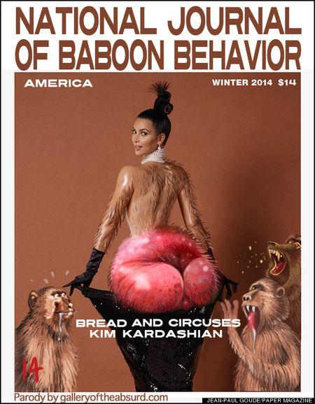 kims baboon butt