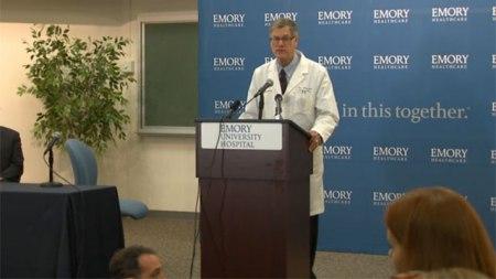 ebola press conference
