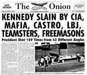 Onion Conspiracies