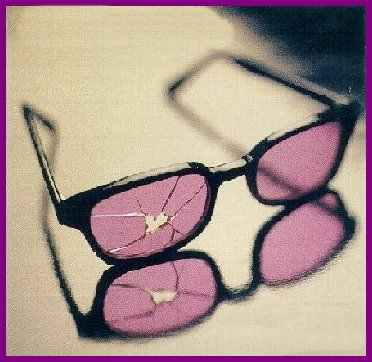 rose coloured glasses