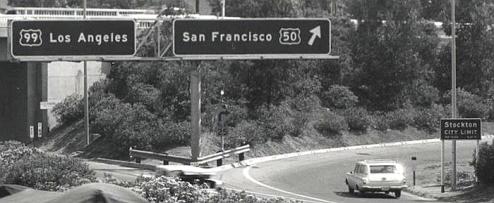 Stockton City Limits 99 and 50