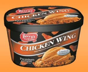 chicken flavored icecream