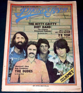 Cover of Phonograph Record Magazine Dudes