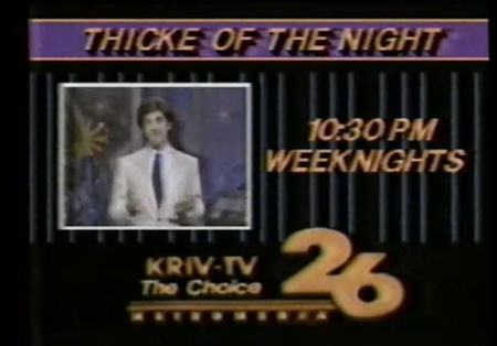 Thick of the night ad