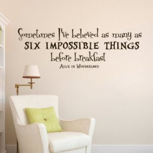 6 impossible things