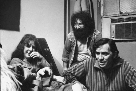 Grace, Jerry and Bill Graham
