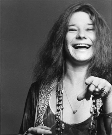 Janis Laughing