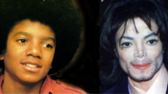 Michael Jackson Black and White