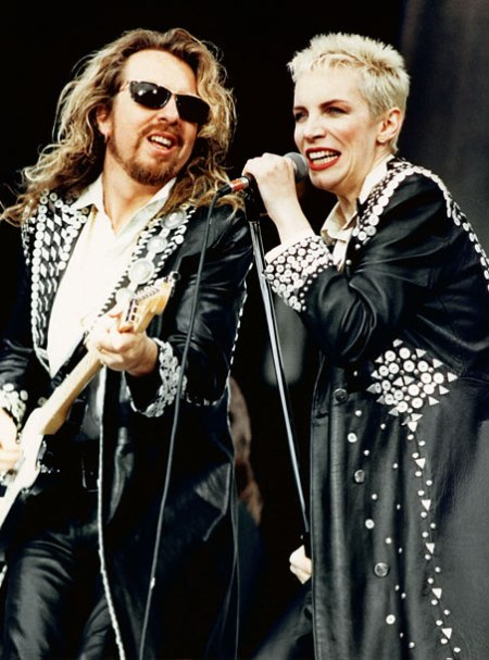 Annie and Dave Eurythmics