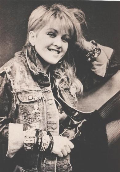 Cyndi very early 80s