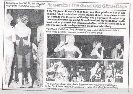 Debbie Silettos newspaper clipping 1973