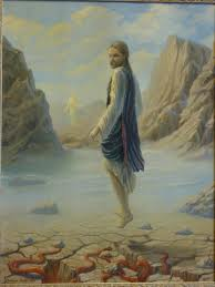 Jesus in the desert