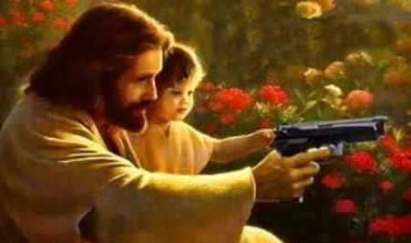 Jesus Teaches Gun Safety
