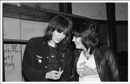 Joan and Chrissie