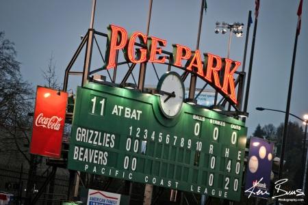 Portland-Beavers-Scoreboard-in-PGE-Park-Portland-Oregon