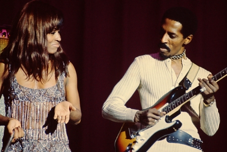 Tina and Ike performing