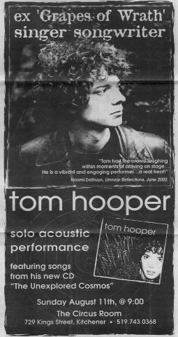 Tom Hooper Advert