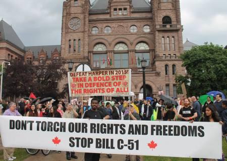 BILLC51 protesters Toronto