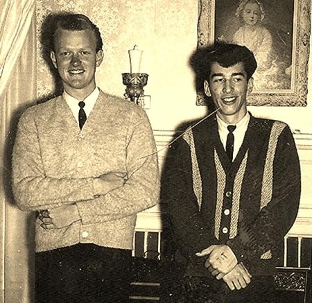 Bob and Glenn Sepia