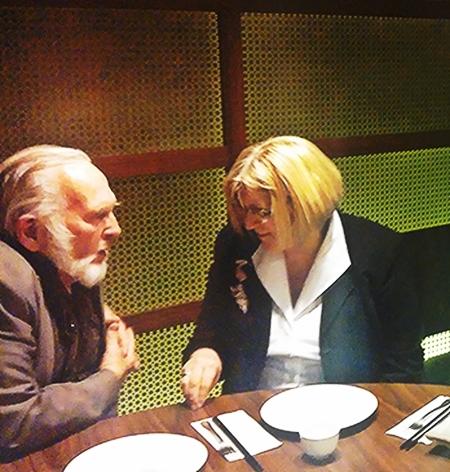 Dick Smyth and Liz Janik