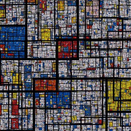fractal-mondrian