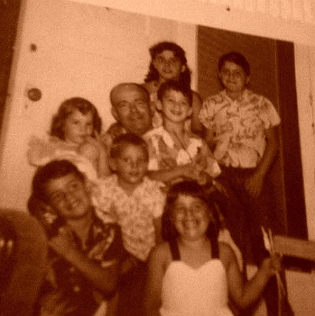 John Segarini and all the Cousins cropped