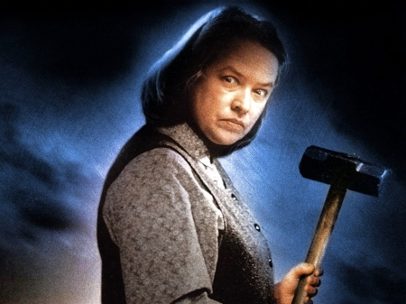 kathy bates with hammer