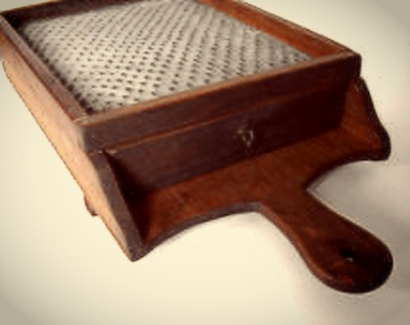 Old fashioned cheese grater2