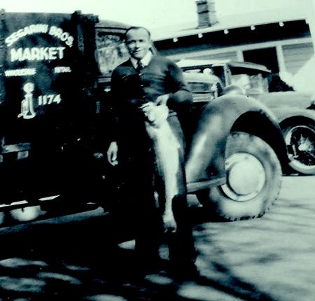 Segarini My Dad in 1932 with the Segarini Brothers 1st truck