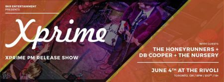 Xprime CD Release June 4