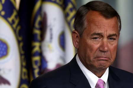 boehner pouting