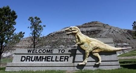 Drumheller sign