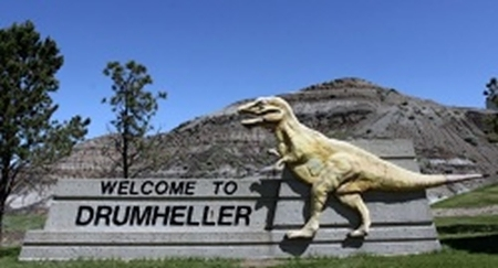 Drumheller sign