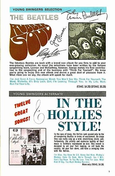HolliesBeatlesCapitolCanadaClub