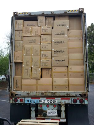 over-packed truck