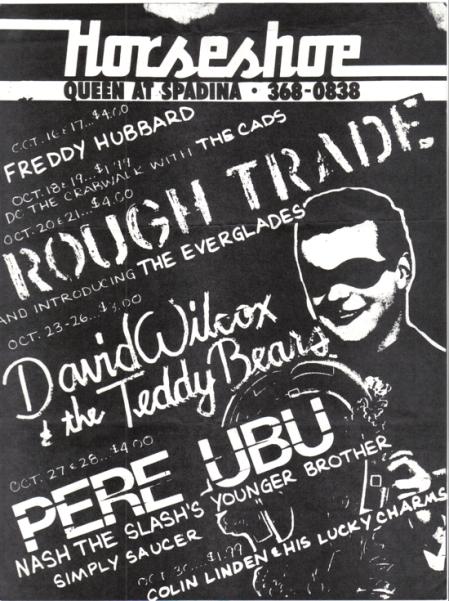 The Horseshoe Rough Trade