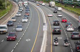 HOV lanes empty