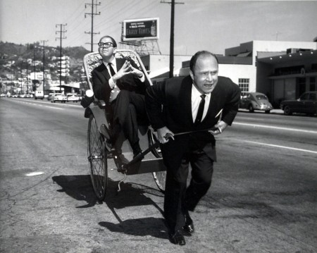 Jeno and rickshaw