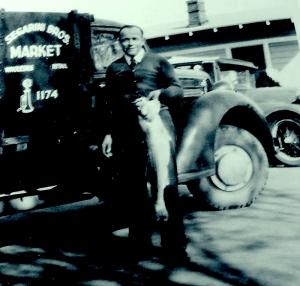 02. Segarini My Dad in 1932 with the Segarini Brothers 1st truck
