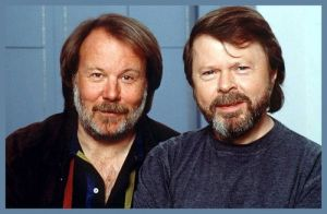 Bjorn Ulvaeus and Benny Andersson