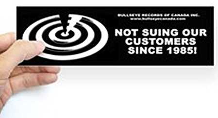 bullseye_canada_bumper_bumper_sticker
