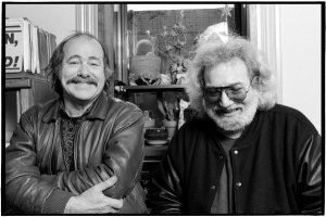 Robert Hunter and Jerry Garcia January 31, 1991